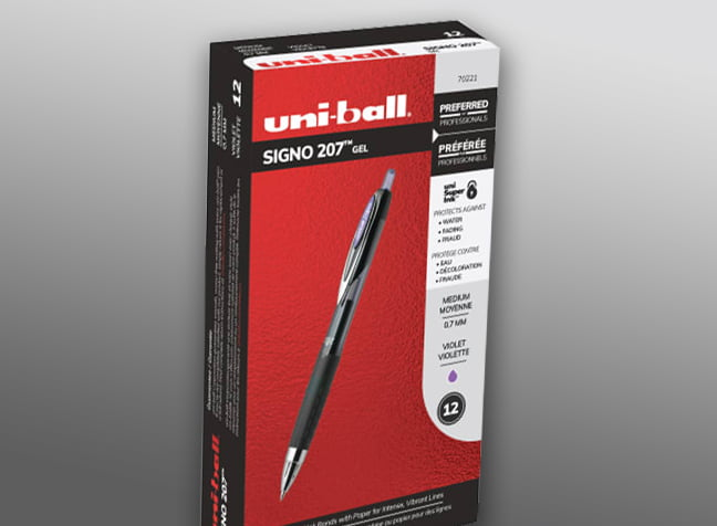 uniball-207-pen-box